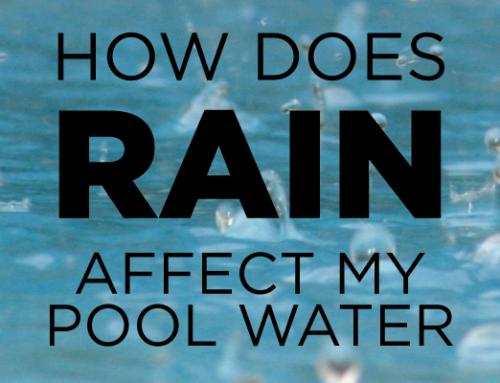What to do if a torrential downpour turns your pool into a pond?