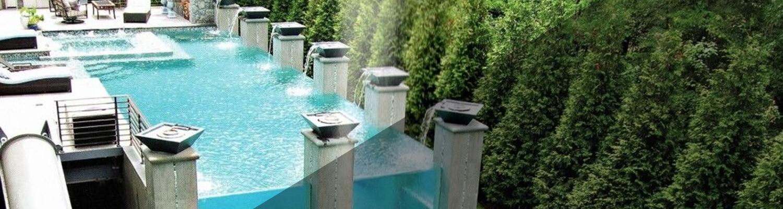 Home Custom Pools Caribbean Blue Pool And Spas